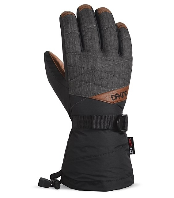 DAKINE Zimné Rukavice Tahoe Glove Charcoal - L