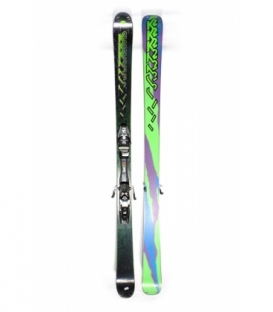 K2 Lyže Black/Green 175 cm