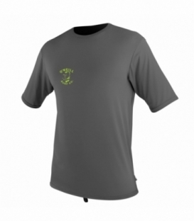 O'NEILL Lycra Skins Graphic S/S Rash Graphite L