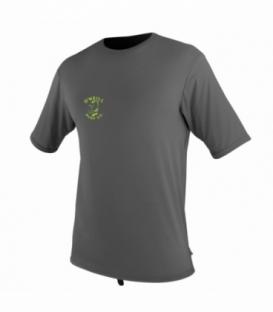 O'NEILL Lycra Skins Graphic S/S Rash Graphite Xl