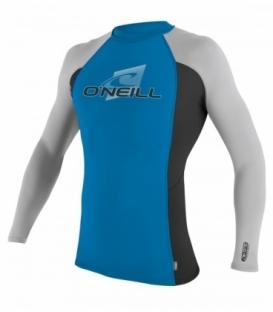 O'NEILL Lycra Skins L/S Crew Brite Blue/Black/Lunar Xl
