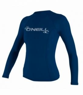 O'NEILL Lycra Wms Basic Skins L/S Crew Deep Sea M