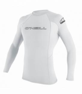 O'NEILL Lycra Basic Skins L/S Crew White L