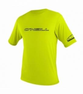 O'NEILL Lycra Basic Skins S/S Rash Tee Lime 3xl