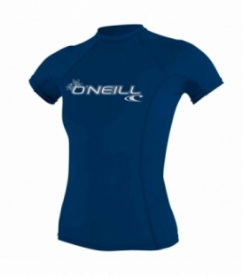 O'NEILL Lycra Wms Basic Skins S/S Crew Deep Sea S