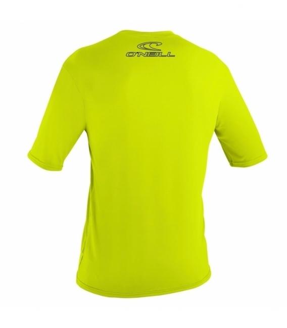 O'NEILL Lycra Basic Skins S/S Rash Tee Lime Xxl