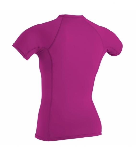 O'NEILL Lycra Wms Basic Skins S/S Crew Fox Pink M