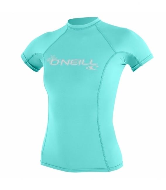 O'NEILL Lycra Wms Basic Skins S/S Crew Seaglass L