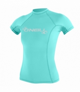 O'NEILL Lycra Wms Basic Skins S/S Crew Seaglass L