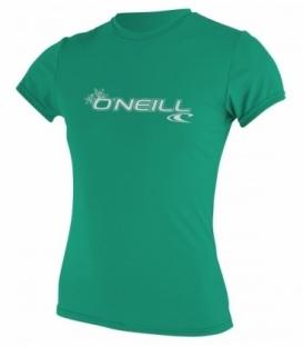 O'NEILL Lycra Wms Basic Skins S/S Rash Tee Seaglass L