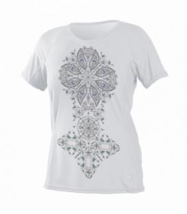 O'NEILL Lycra Wms Graphic S/S Rash White L