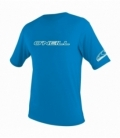 O'NEILL Lycra Youth Basic Skins S/S Rash Tee Brite Blue 14