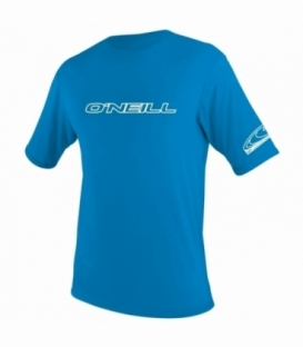 O'NEILL Lycra Youth Basic Skins S/S Rash Tee Brite Blue 16