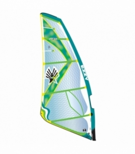 EZZY SAILS Plachta Zeta Green 6.8 (2017)