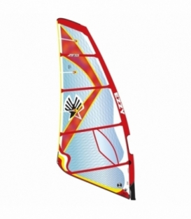 EZZY SAILS Plachta Zeta Red 6.8 (2017)