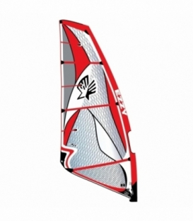 EZZY SAILS Plachta Elite Red 4.7 (2017)