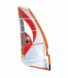 EZZY SAILS Plachta Cheetah Orange 7.5 (2016/2017)
