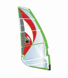 EZZY SAILS Plachta Cheetah Green 7.5 (2016/2017)