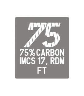 CORNER Sťažeň Carbon75 RDM Flex Top 370