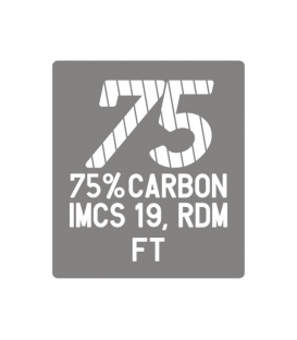 CORNER Sťažeň Carbon75 RDM Flex Top 400
