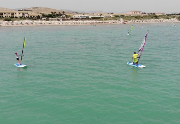 Windsurfing na Sicílii